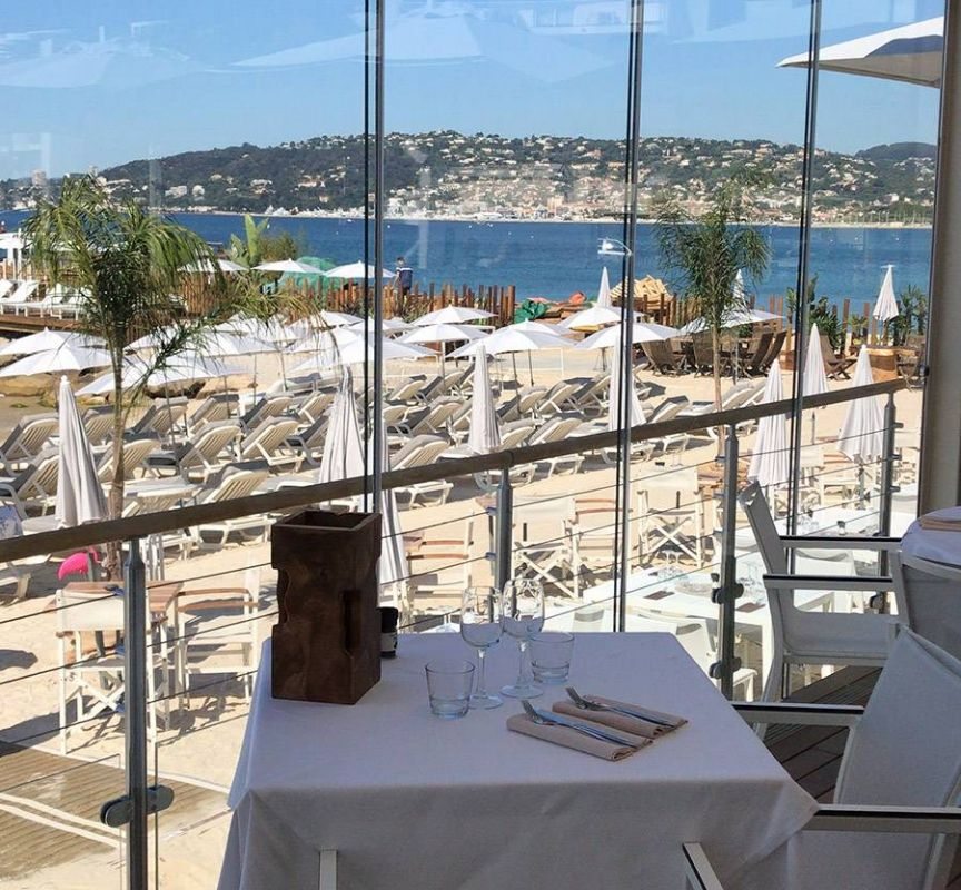 Le Restaurant - L'Esterel - Plage Juan les Pins